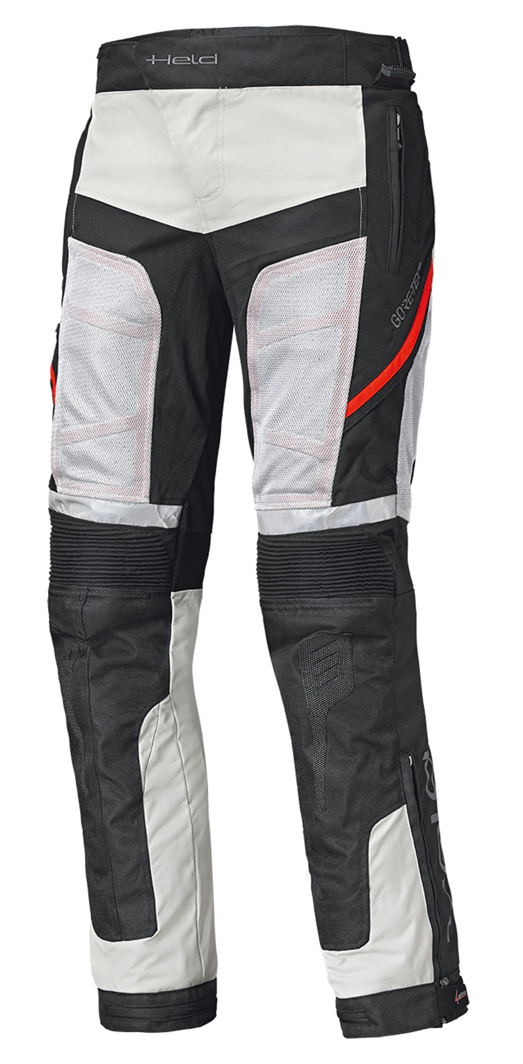 HELD - Pantalone AEROSEC GTX BASE (Grigio-Rosso)(Art.6888)-1