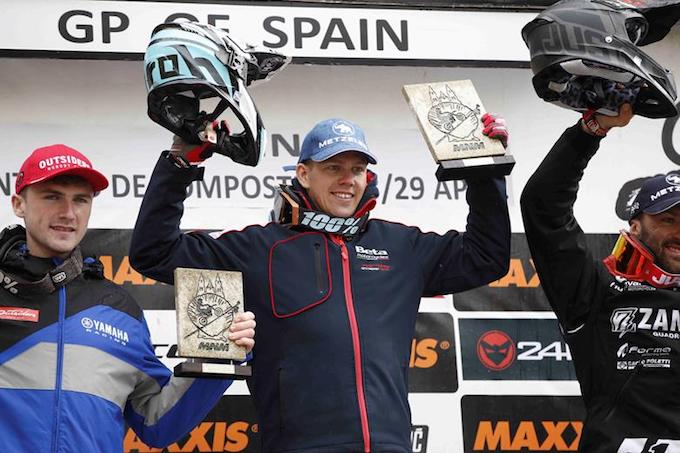 Beta: Steve Holcombe mattatore nel Day2 del GP di Spagna