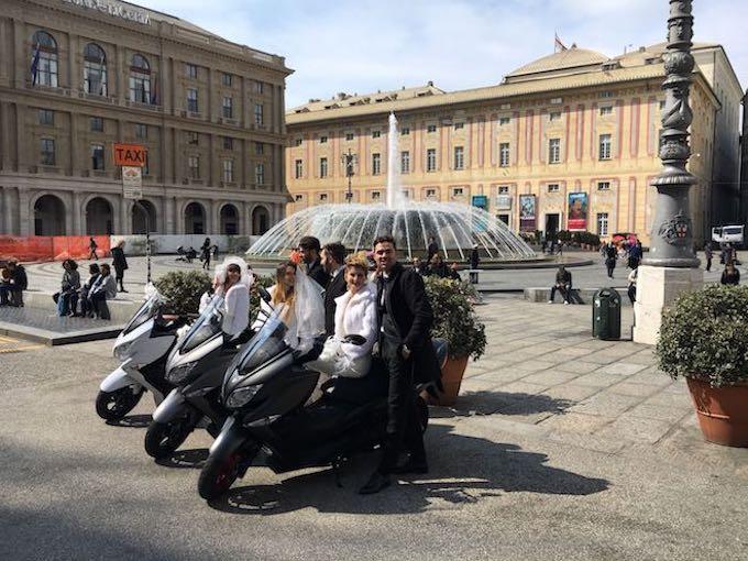 "Suzuki: lo ""Sposati in Burgman Tour"" nelle piazze italiane"