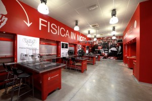 Ducati: il laboratorio di Fisica in Moto apre anche al pubblico