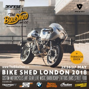 Scrambler presente all'edizione 2018 di Bike Shed London