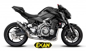 Exan: quattro scarichi dedicati alla Kawasaki Z900