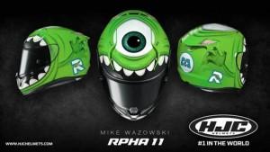 "HJC: arriva un casco ""mostruoso"", l'RPHA 11 Mike Wazowski"
