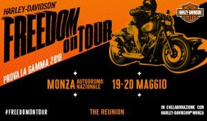 Harley-Davidson a The Reunion con eventi, spettacoli e demo rides