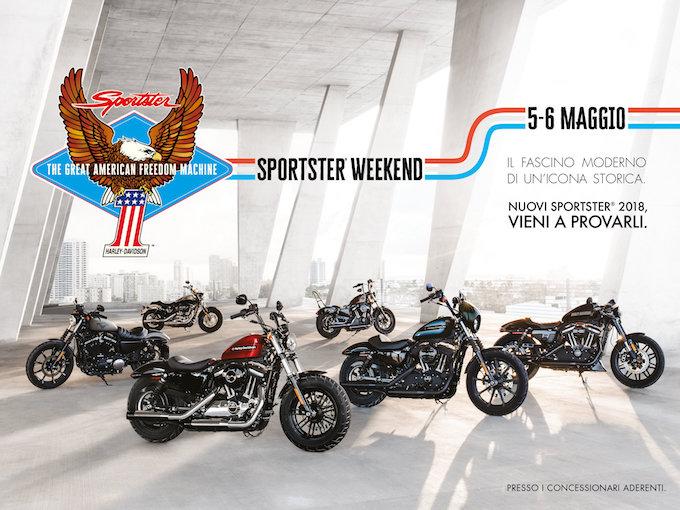 Harley-Davidson: spazio allo Sportster Weekend
