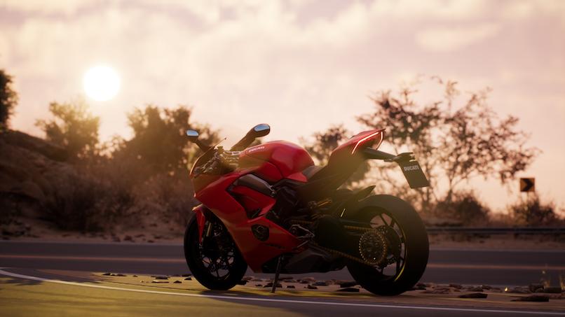 Ducati: la Panigale V4 protagonista di RIDE 3
