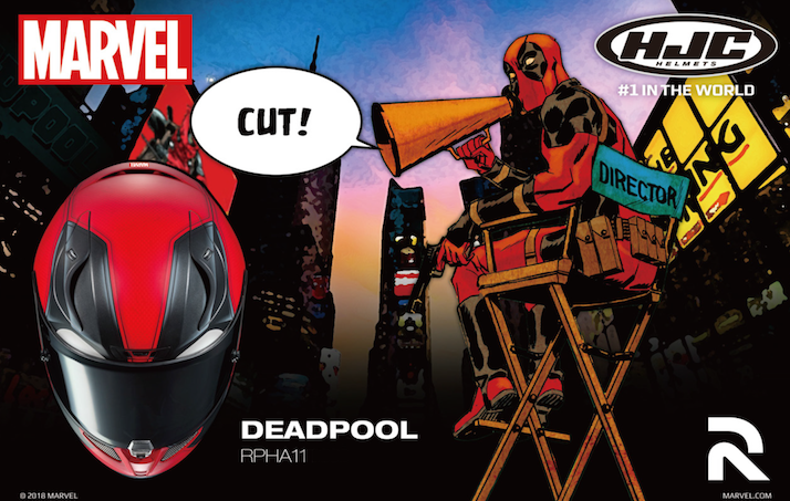 HJC: arriva il casco tributo a Deadpool