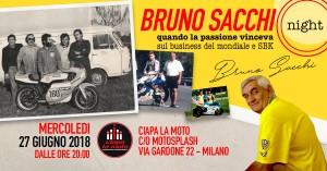 Ciapa La Moto rende omaggio a Bruno Sacchi