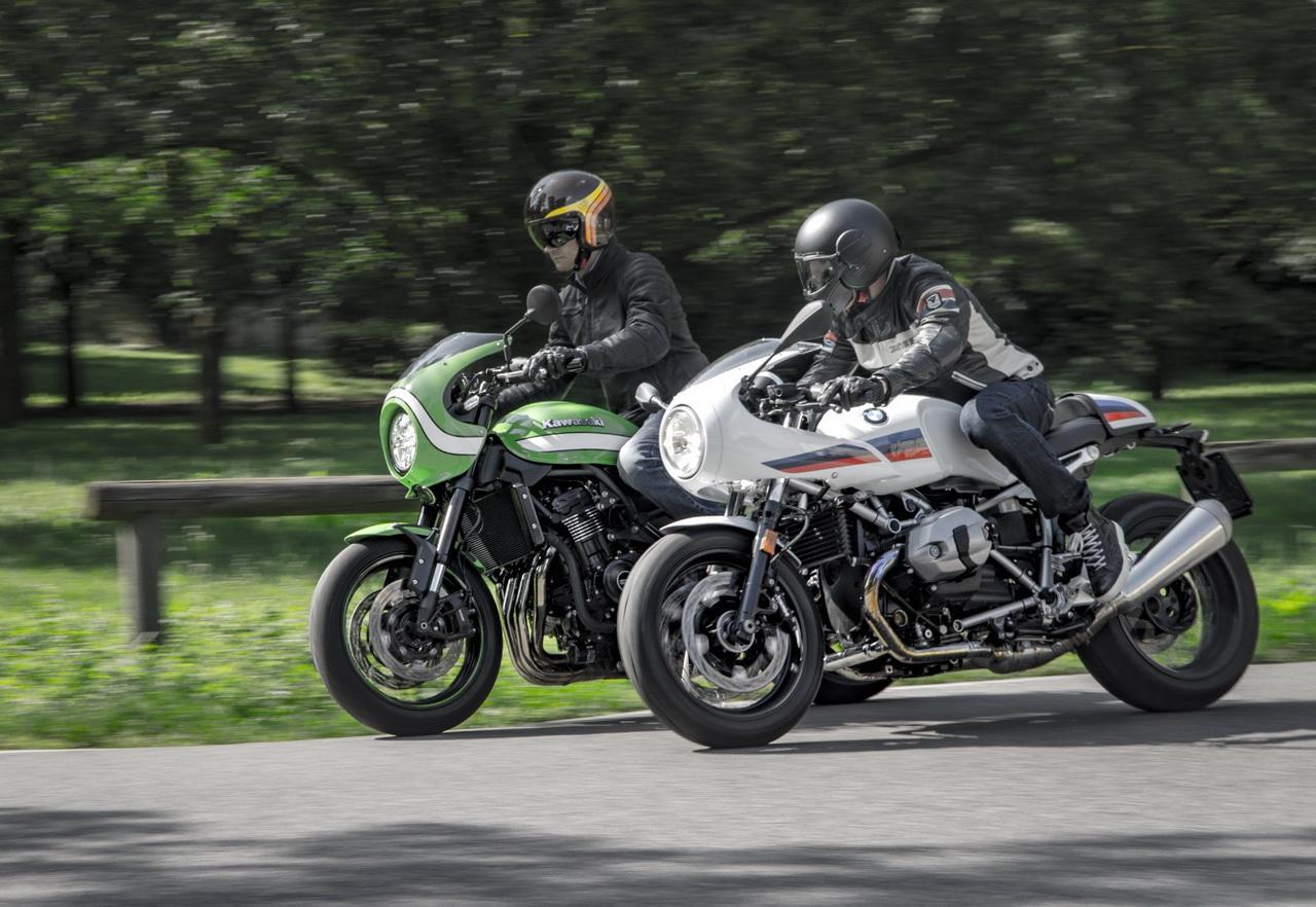 Kawasaki Z900rs Cafe E Bmw R Ninet Racer Due Modi Diversi Di Essere