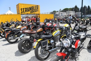 La Land of Joy Scrambler arriva al World Ducati Week 2018