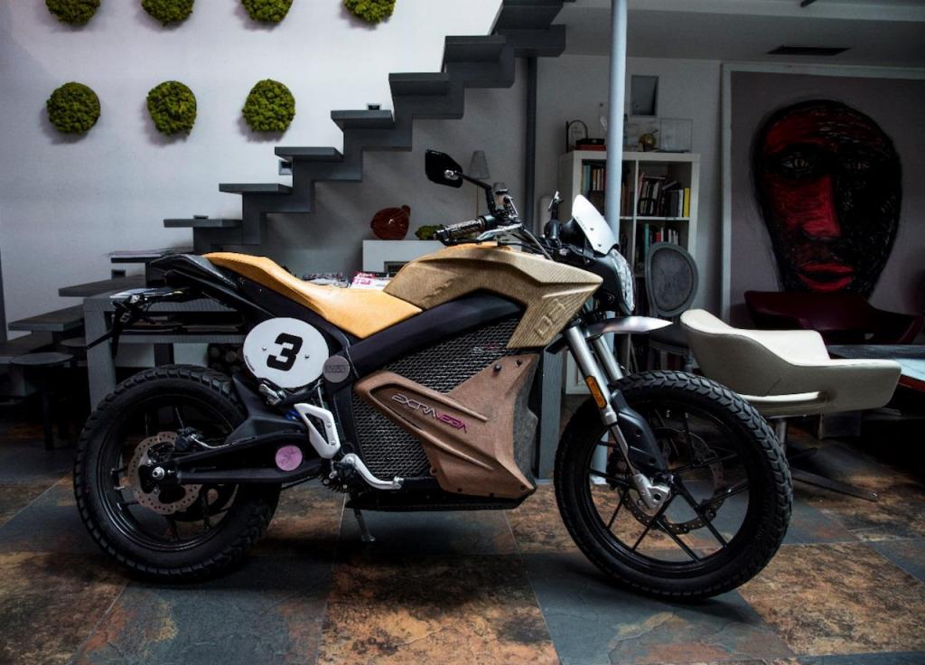 Zero Motorcycles: arriva Extravega, metà moto metà opera d'arte