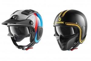 Shark Helmets: S-Drak e X-Drak, stile retrò e tecnologia 2.0