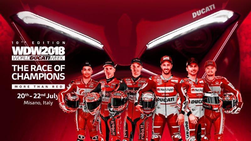 Ducati: all'asta su eBay le Panigale V4 della Race of Champions