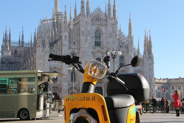 Scooter sharing elettrico: grande successo di MiMoto