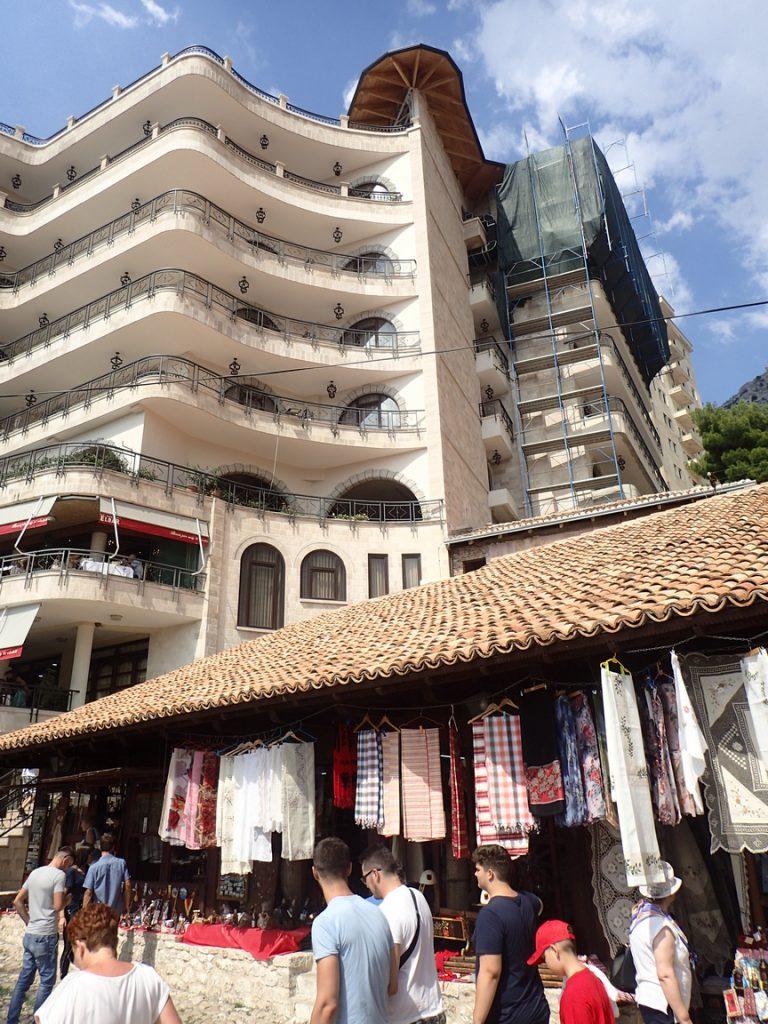 Costruzioni sopra ai Bazar