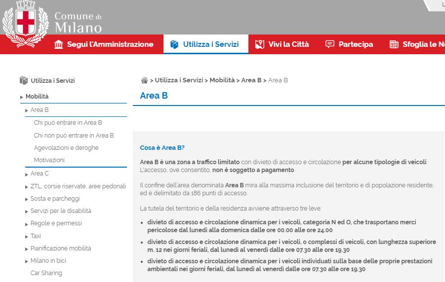 Area B Milano, i limiti riguarderanno anche le due ruote, perfino quelle diesel!