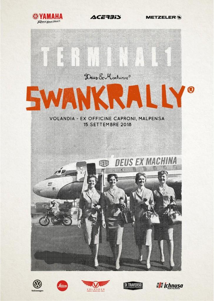 Deus Swank Rally: appuntamento per il 15 settembre