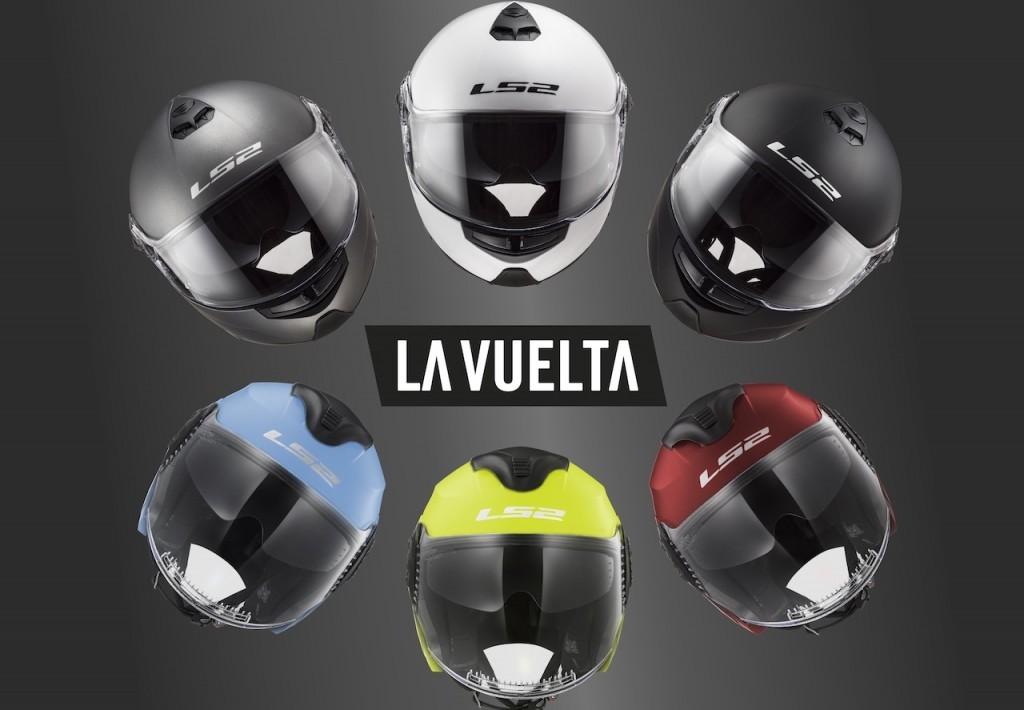 LS2 Helmets fornitore ufficiale della 73esima edizione de La Vuelta