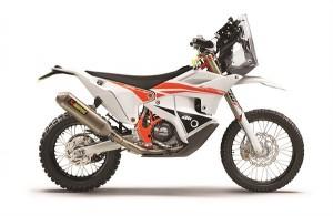 Presentata la KTM 450 RALLY Replica