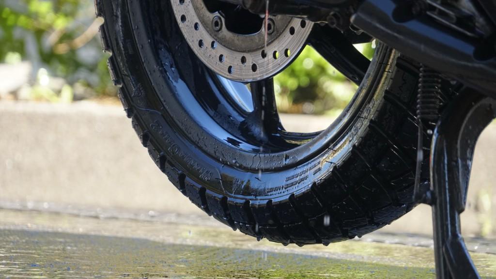 Anlas Winter Grip 2, il long test della gomma invernale da scooter prosegue in estate