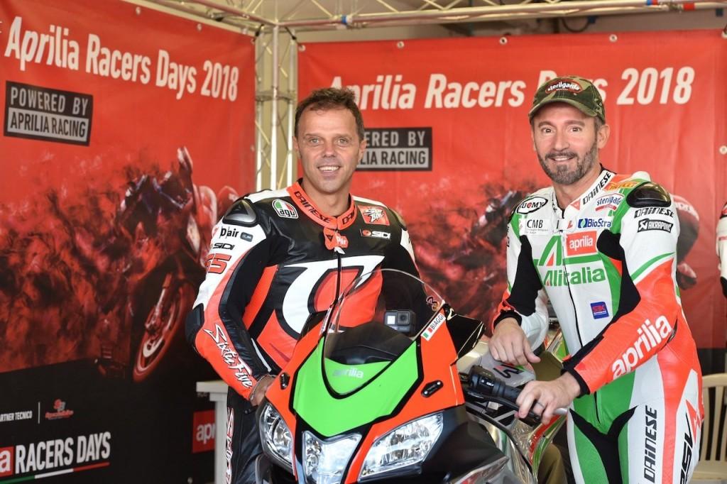 Aprilia Racers Days-2018-biaggi-capirossi-1