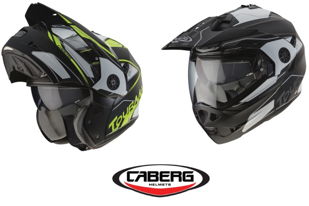 Caberg Tourmax Marathon: il casco apribile 100% Made in Italy