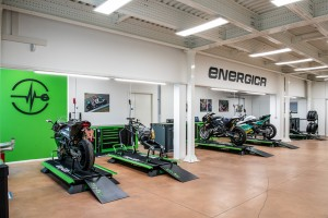 Energica inaugura il nuovo Sport Production Dept