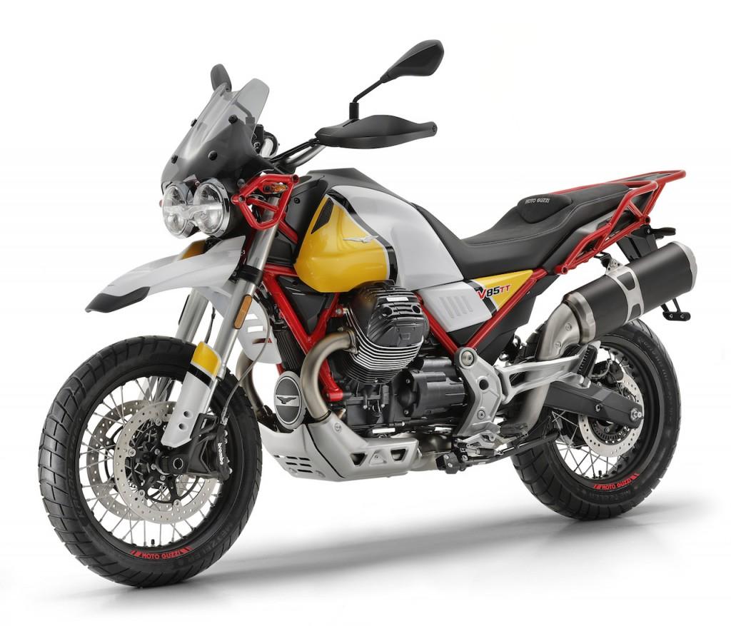 Moto Guzzi V85 TT: la classic enduro made in Mandello del Lario