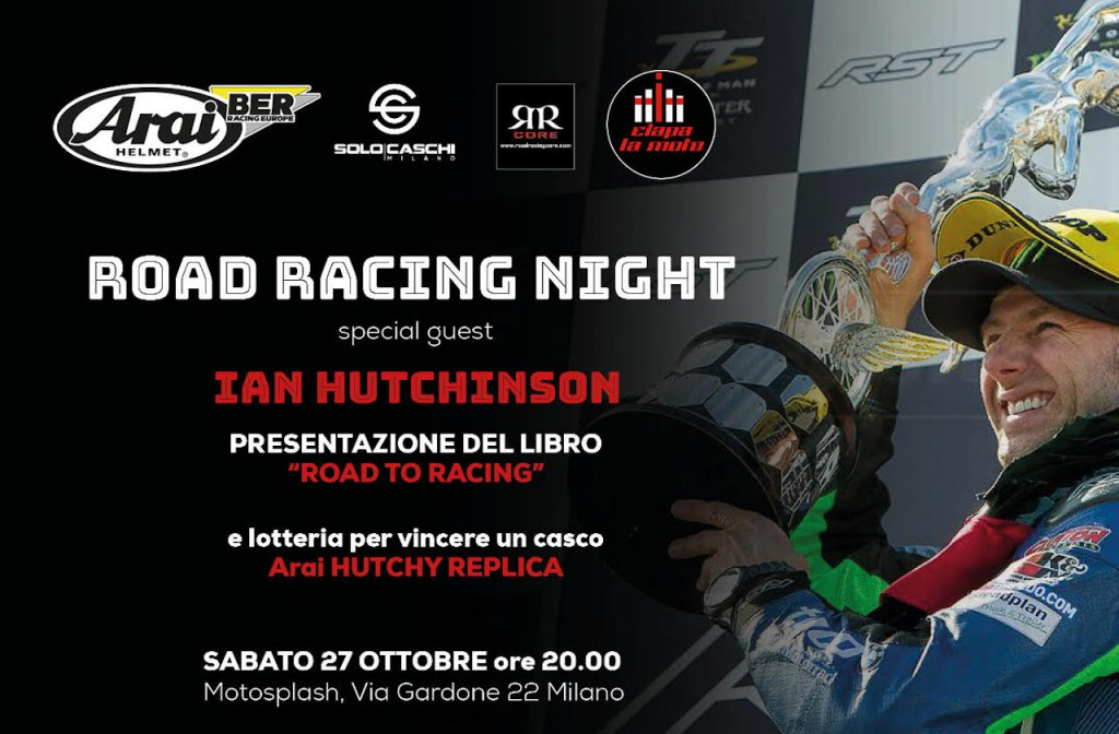 Ciapa la Moto: la Road Racing Night per celebrare Ian Hutchinson