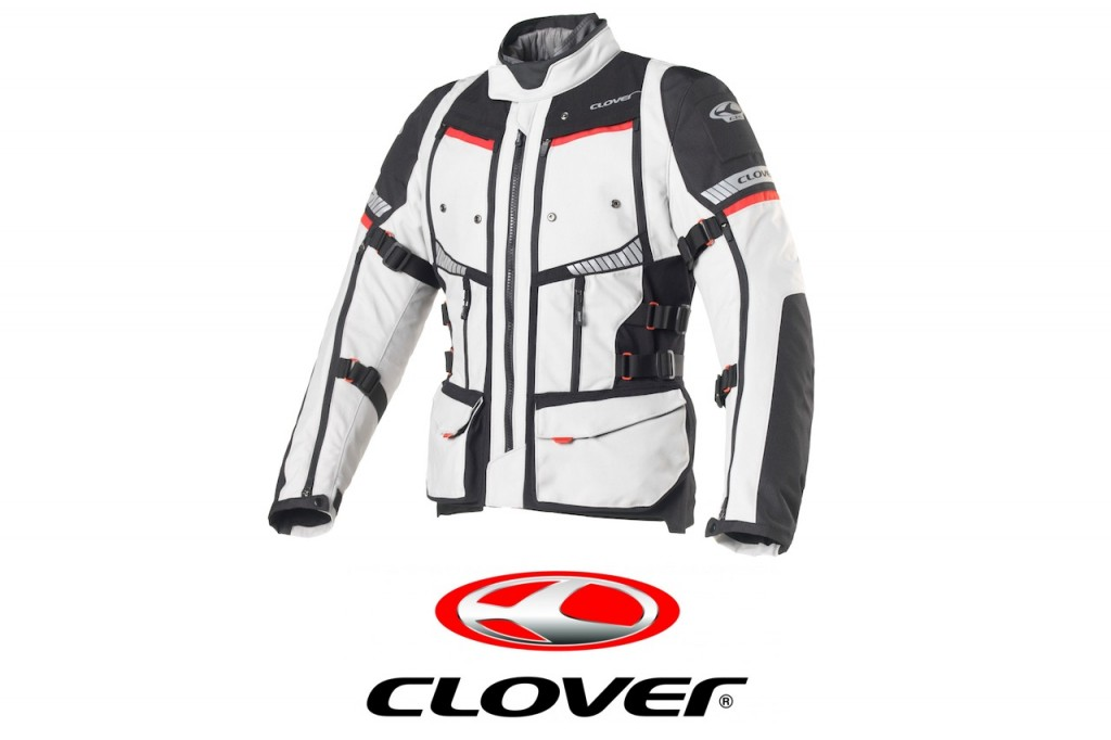 Clover: a Eicma arriva la nuova giacca tecnica GTS-4 Airbag