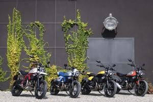 Ducati Scrambler: presentati a Intermot i tre modelli che completano la gamma