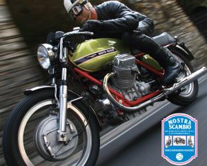 Moto Guzzi protagonista alla Mostra Scambio al Parco Esposizioni Novegro