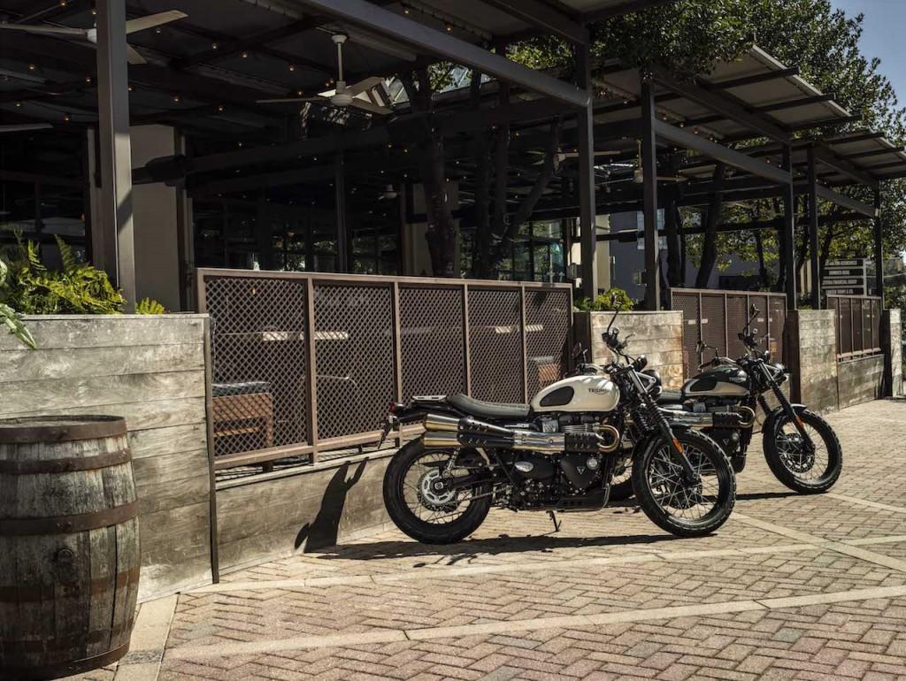Triumph porta a Intermot le nuove Street Scrambler e Street Twin
