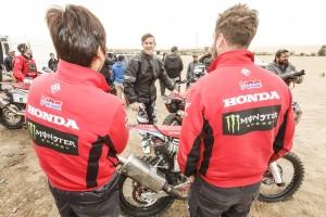 Tucano Urbano fornitore ufficiale del Monster Energy Honda Team