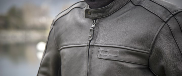 "OJ – La nuova giacca in pelle ""Reason """