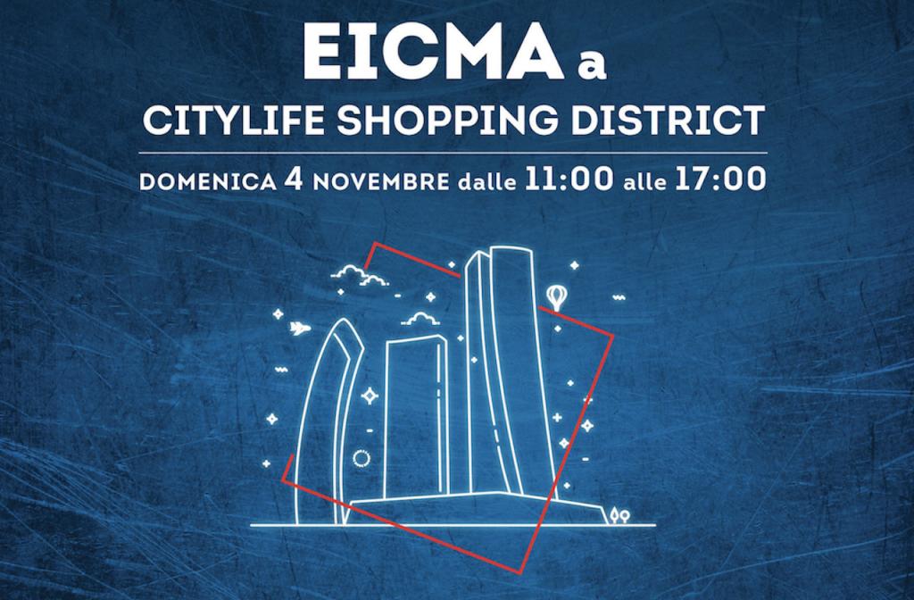 EICMA 2018: domenica apre il Citylife Shopping District