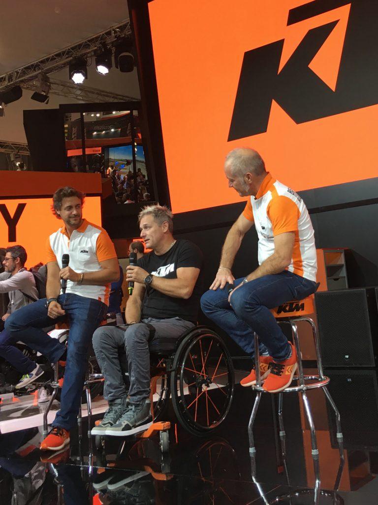 Nicola Dutto ad Eicma 2018 annuncia il ritorno in sella, con KTM nella Dakar 2019
