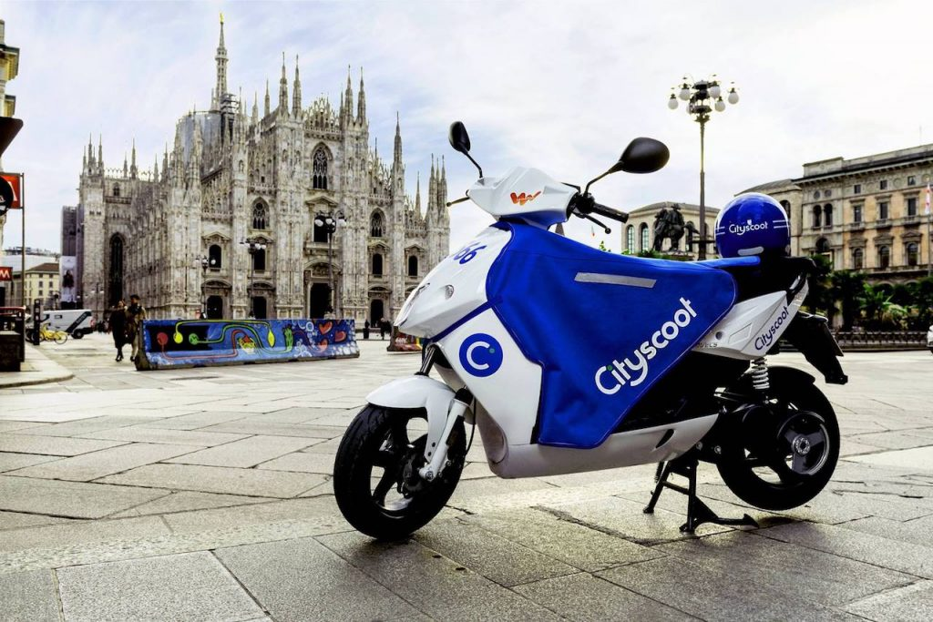 Cityscoot: lo scooter sharing a 0 emissioni made in France arriva a Milano