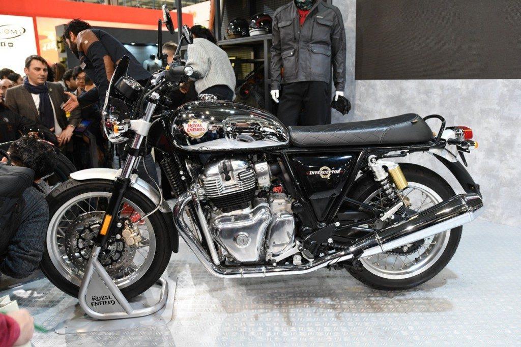 Royal Enfield Interceptor 650 eletta moto indiana del 2019