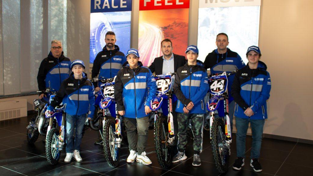 Yamaha: nasce il nuovo MX Junior Team