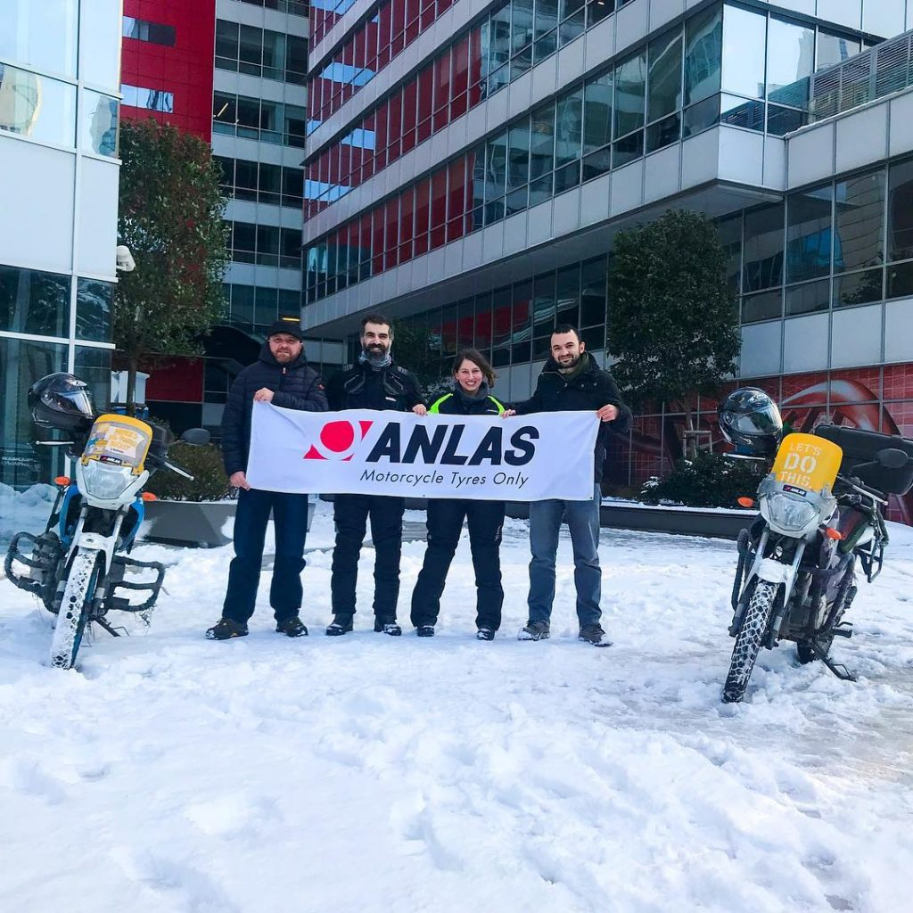 Anlas e Ride2World – Una Grande avventura di 5.000km dalla Turchia all'Italia