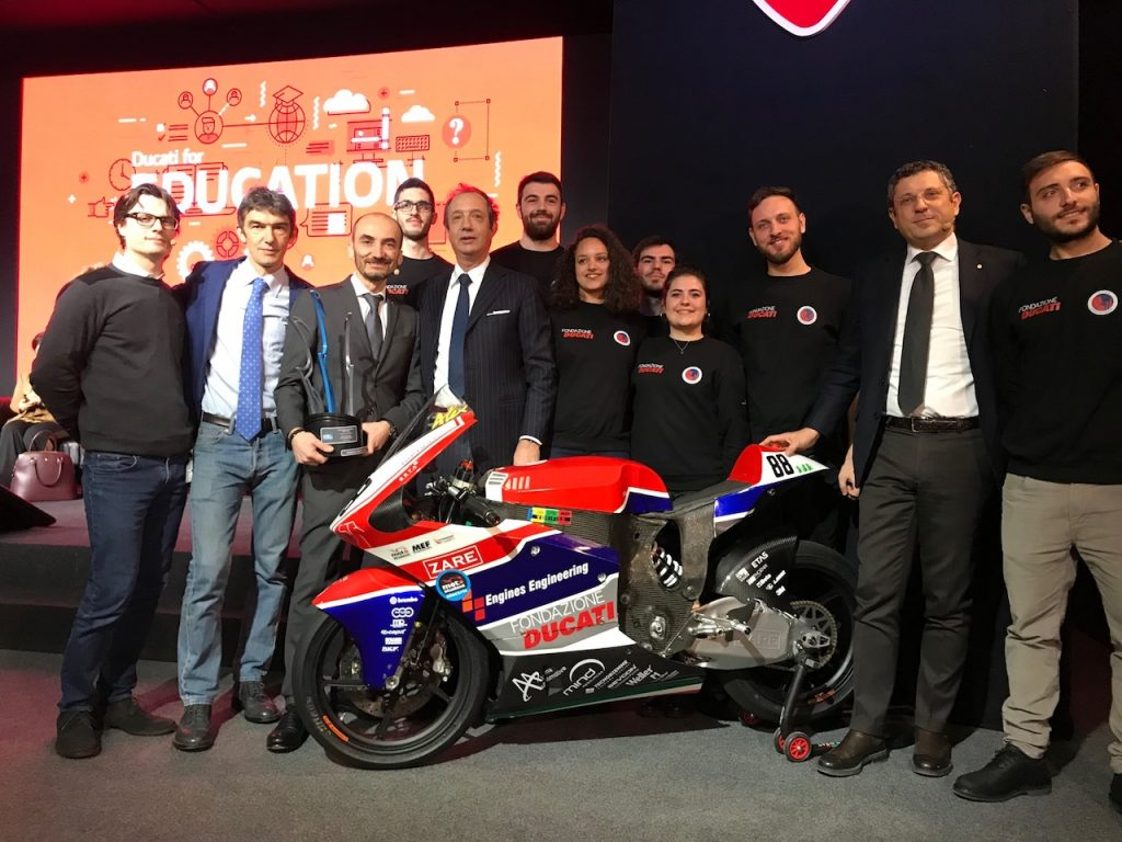 Ducati for Education: un futuro in moto per i ragazzi italiani