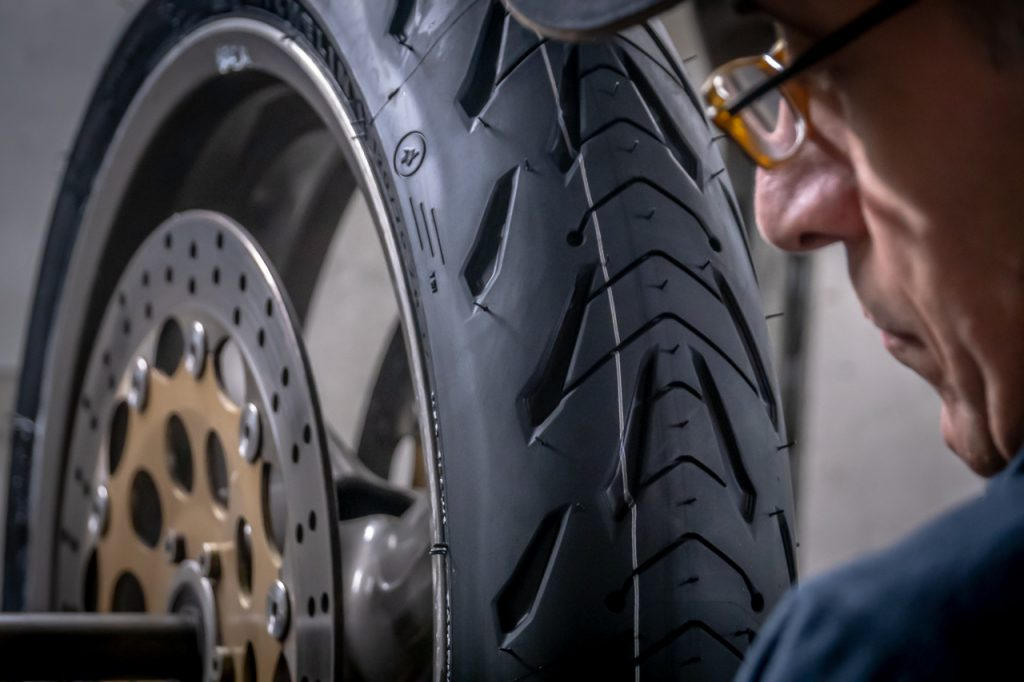 Michelin Road 5 Prova su strada 2019