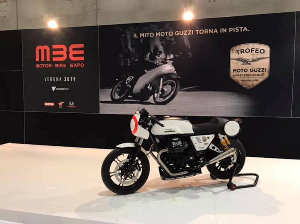 Moto Guzzi Fast Endurance: il mito dell'Aquila torna in pista