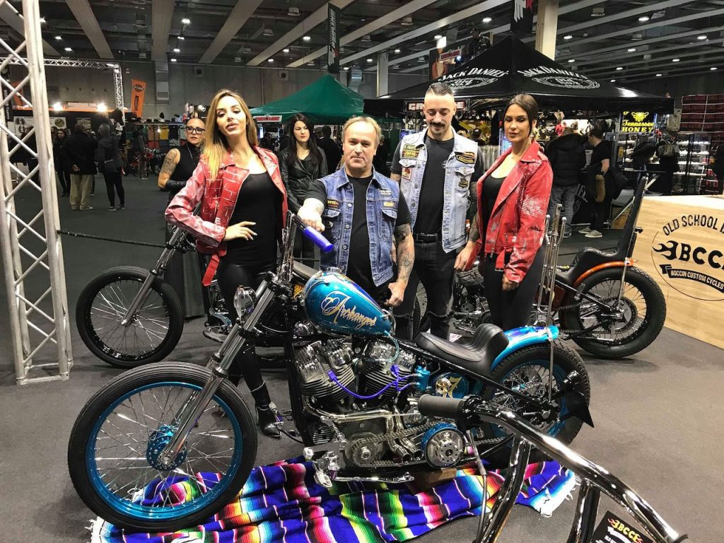 Boccin Custom Cycles a Motor Bike Expo