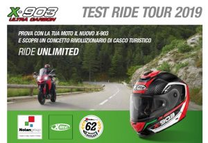 Nolan X-903: parte il test ride tour