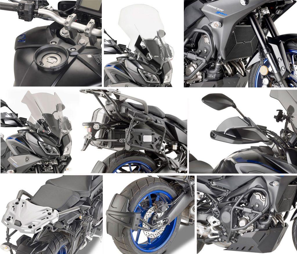 Givi presenta il nuovo allestimento per la Yamaha Tracer 900
