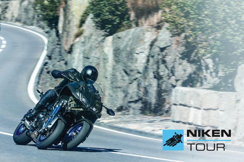 Yamaha Niken: parte il tour in giro per l'Italia