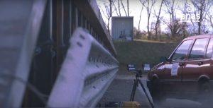 ANAS: la nuova barriera salva motociclisti ha superato i crash test [VIDEO]