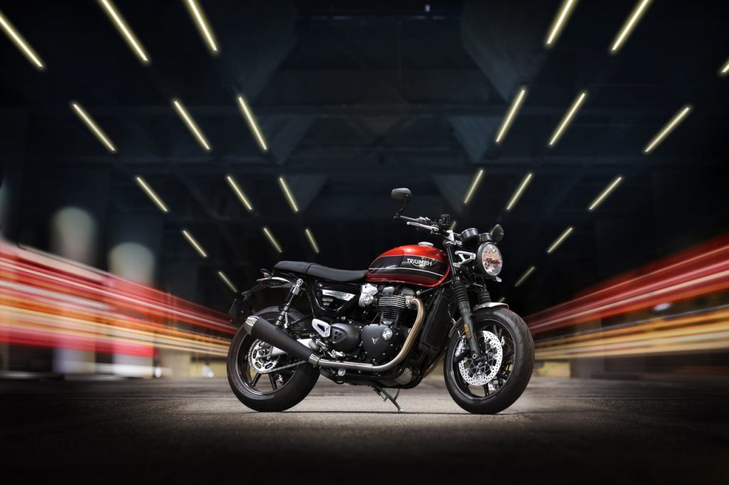 Triumph: Speed Of  Light, l'evento per toccare con mano i nuovi modelli